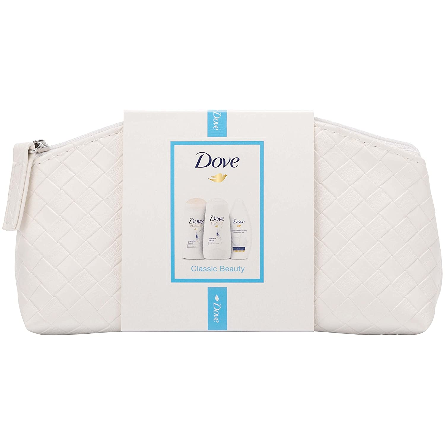 Dove Classic Beauty Make Up Bag Gift Set Unilever 8710522343098