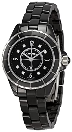 Amazon Com Chanel Women S H2569 J12 Black Ceramic Bracelet