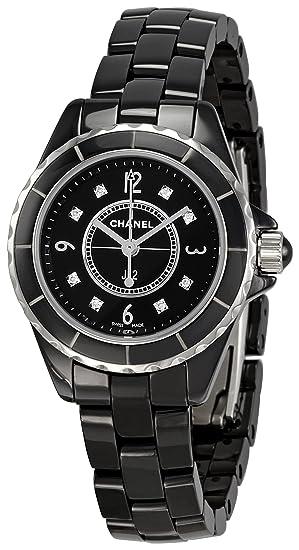 Chanel H2569 - Reloj de Pulsera Mujer, Cerámica, Color Negro
