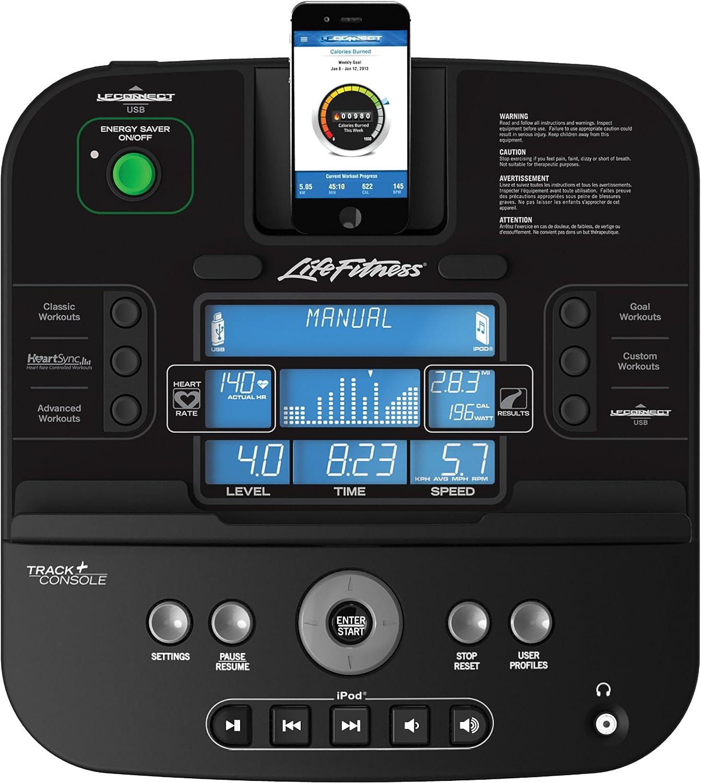 Titanium Life Fitness E1 Track and Cross-Trainer