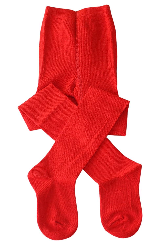 Weri Spezials Calzamaglia per Neonati e Bambini, Colore:Rosso, Taglia: 80-86 cm (12-18 mesi), Lisciare solo tono