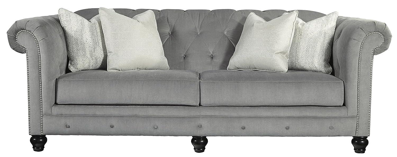 Amazon.com: benchcraft 7290138 Tiarella sofá, ceniza ...