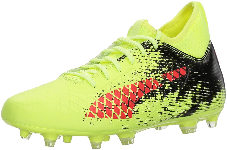 PUMA Men's Future 18.3 FG/AG Soccer Shoe B071K68D74 13 D(M) US Fizzy Yellow-red Blast-puma Black