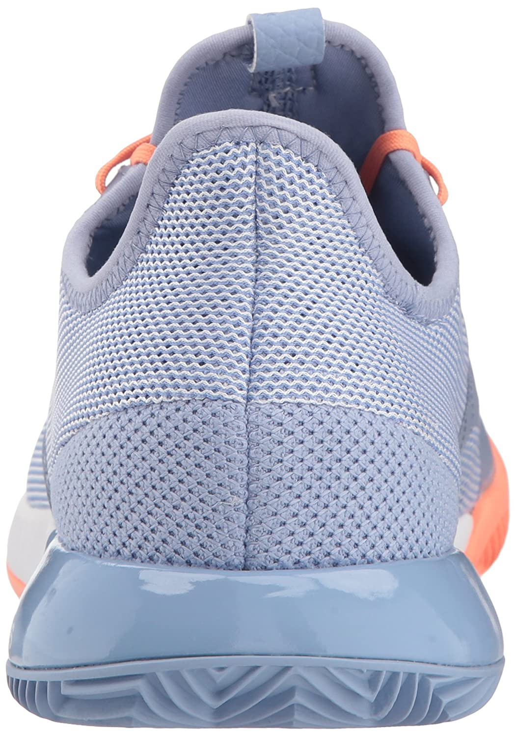 adidas Women's Adizero Defiant Bounce W Tennis Shoe B0725QBSJH 8.5 B(M) US|Chalk Blue/White/Chalk Coral