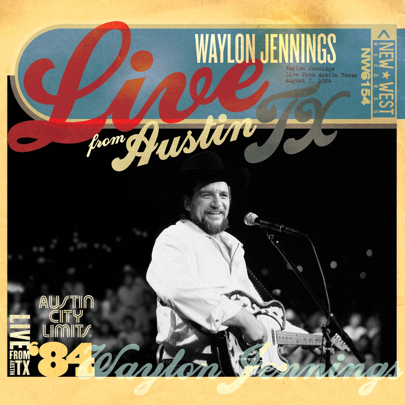 Live from Austin, TX '84 [CD/DVD] by New West