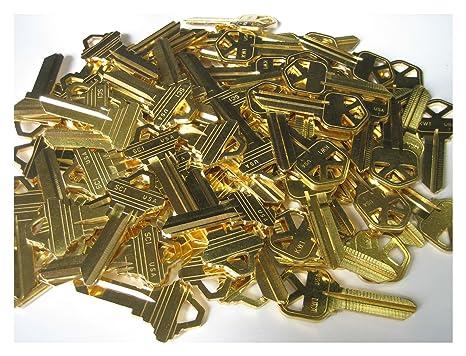 KW1 Blanks Key Brass For Locksmith Bag Of 100 Key kwikset KW1 Brass Brand New