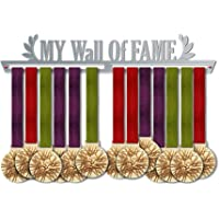 My Wall of Fame Medal Hanger Display | Motivational Medal Hanger | Stainless Steel Medal Display | by VictoryHangers - The Best Gift For Champions !