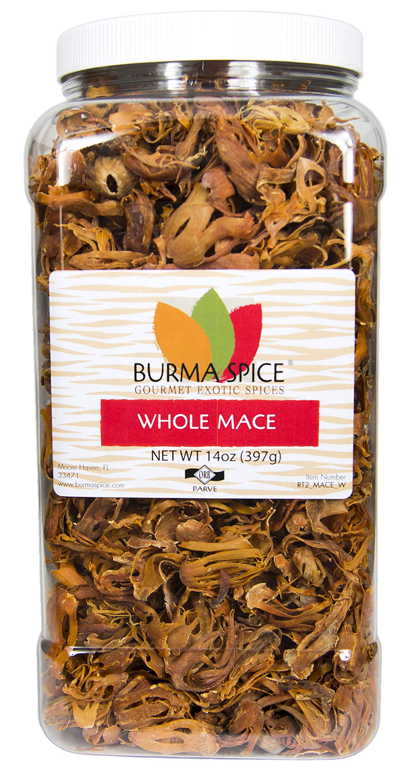 Whole Mace (Javathri) Natural Aromatic Pure Spice Kosher (14oz.)