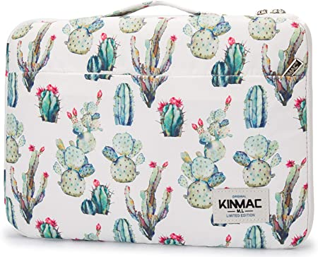 Homlife Laptop Sleeve Bag Cactus with Flowers 13//15 Inch Briefcase Sleeve Bags Cover Notebook Case Waterproof Portable Messenger Bags