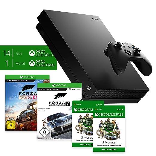 Xbox One X Forza Horizon 4 & Forza Motorsport 7 Bundle + Xbox Game Pass 6 Monate
