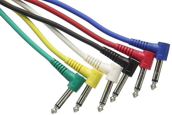 Stagg SPC030L E - Cable patch (patch, mono, 30 cm): Amazon.es: Instrumentos musicales