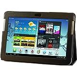 Etui Housse Luxe Cuir pour Samsung Galaxy Tab 2 10.1 P5110 + Stylet Gratuit