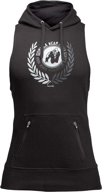 Bodybuilding und Fitness Hoodie f/ür Herren Gorilla Wear Manti Sleeveless Hoodie