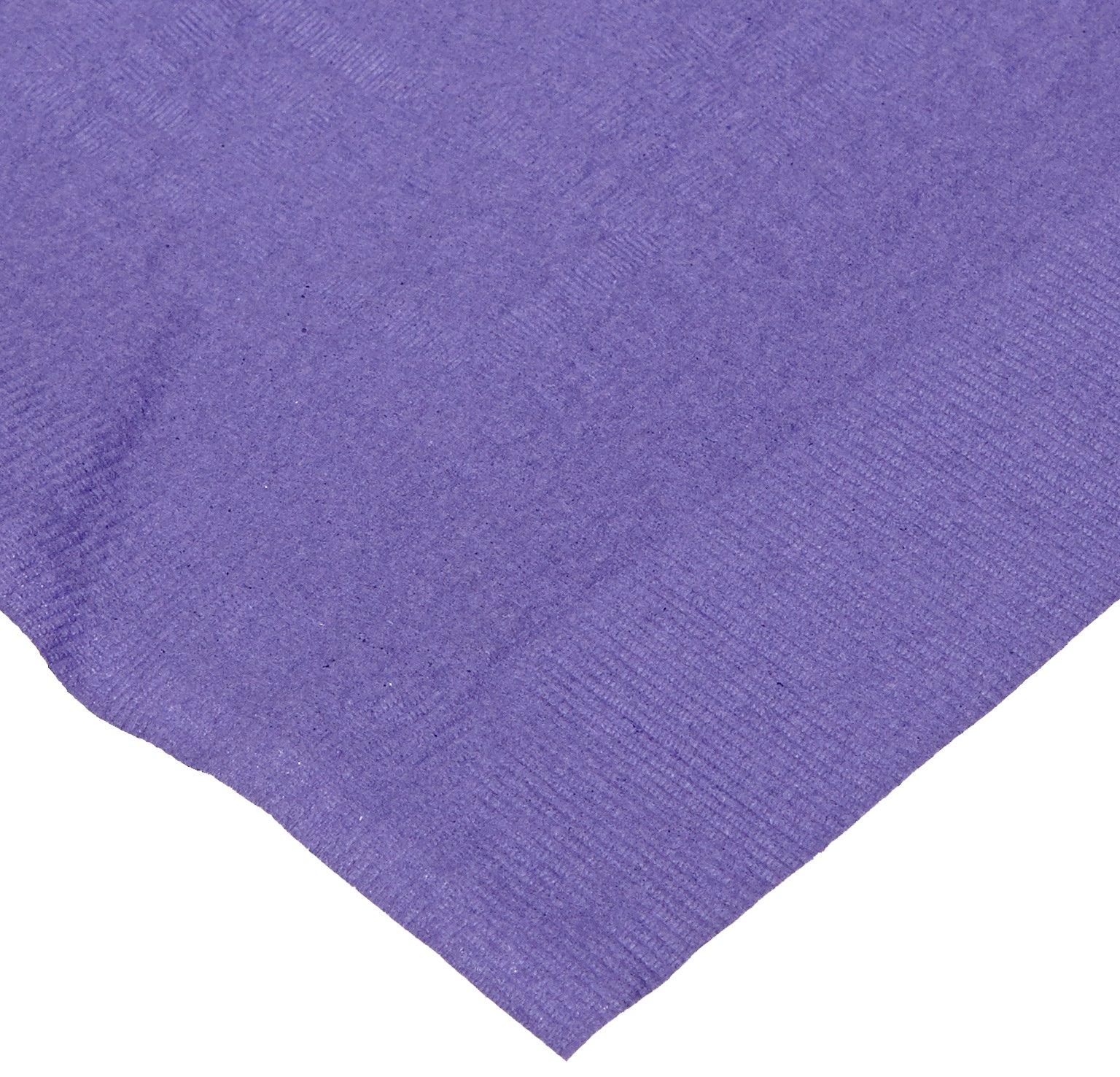 Hoffmaster 220639 Tissue/Poly Tablecover, 3 Ply, 108'' Length x 54'' Width, Purple (Case of 25)