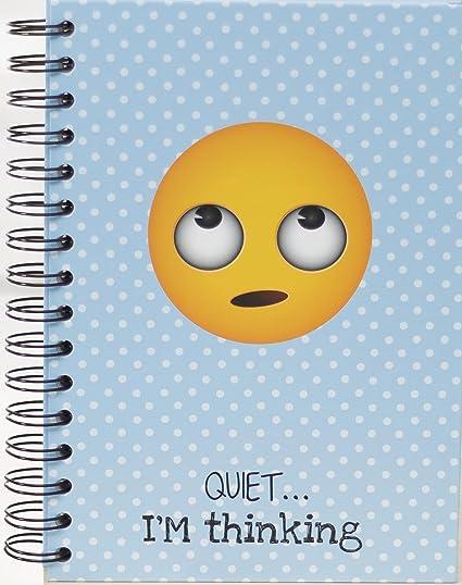 El Jardin de Noa EBN1004B - Cuaderno, A5: Emoji By Noa: Amazon.es: Oficina y papelería