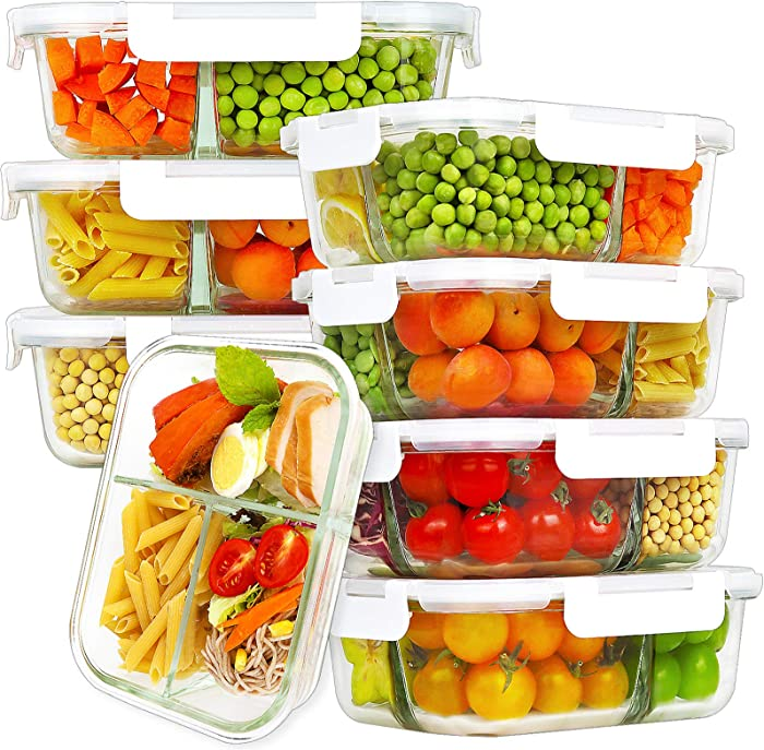 The Best Palstic Food Container With Compartments And Locking Lids