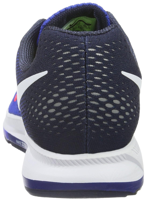 the best attitude 5c268 8e465 Nike Hombres Air Zoom Pegasus 33 Racer Blue   Navy   Blue Glow