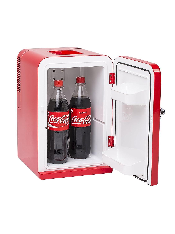 Amazon.es: Coca-Cola MOBICOOL F15 - Mini frigorífico de 12/230 V ...