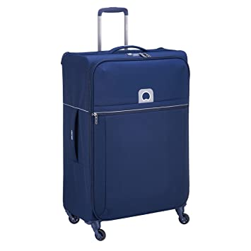 Delsey Paris Brochant Maleta, 77 cm, 110 Liters, Azul (Blue): Amazon.es: Equipaje
