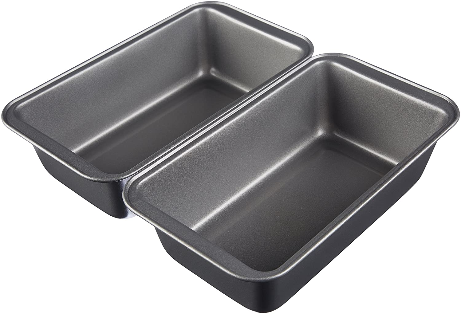 AmazonBasics Carbon Steel Bread Pan - 2-Pack 78262