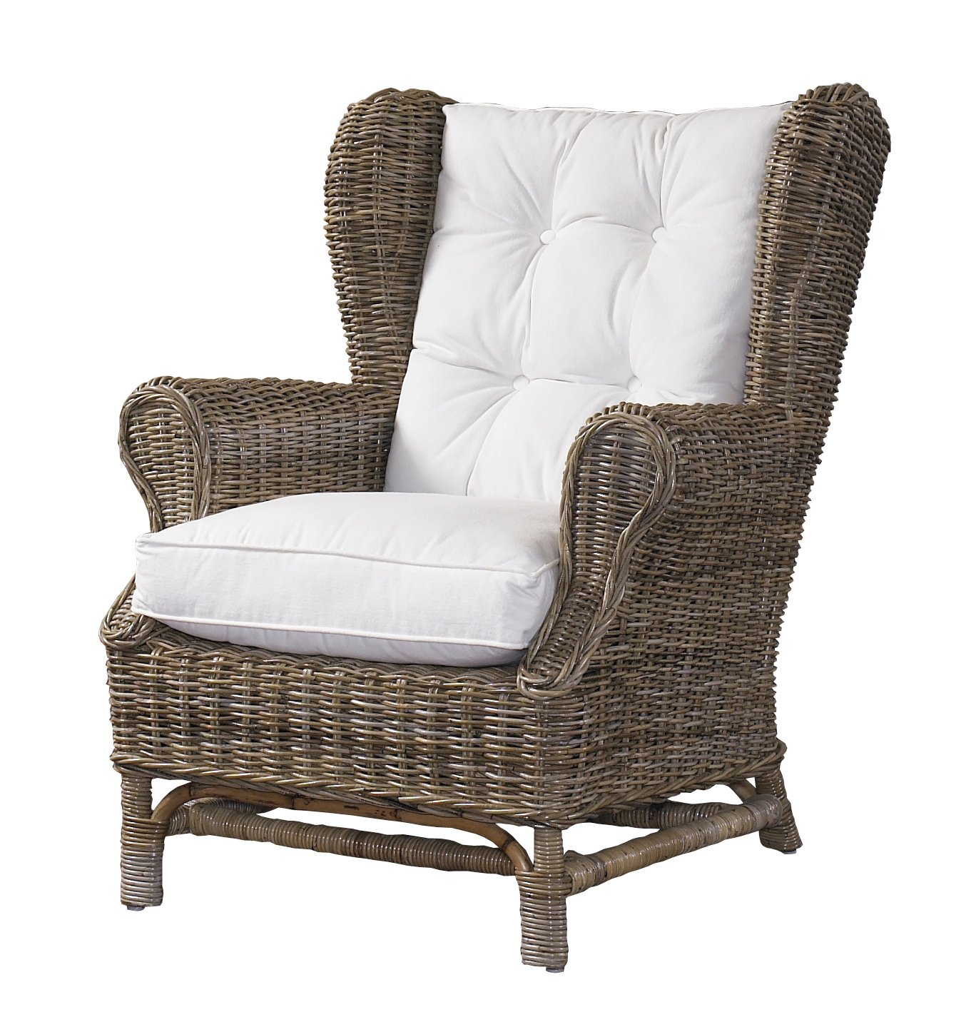 Amazon Padma s Plantataion Wing Chair Kubu with White