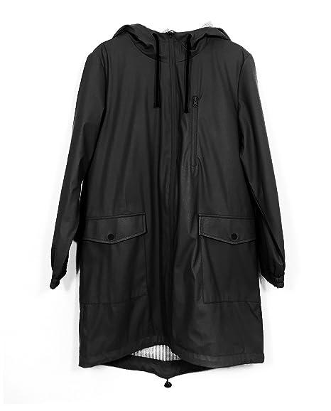 Xs Cappotto it Donna Zara Nero Amazon Abbigliamento 7tZCwqz