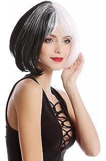 WIG ME UP ® - GF-W2289-1+1001 Peluca mujer corta Cosplay