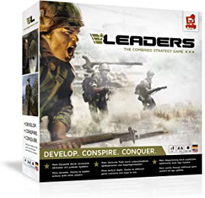 rudy games - Leaders 2019 - Interactive Cold War Strategy Board Game with App - for Children 10 Years and Up and Adults
