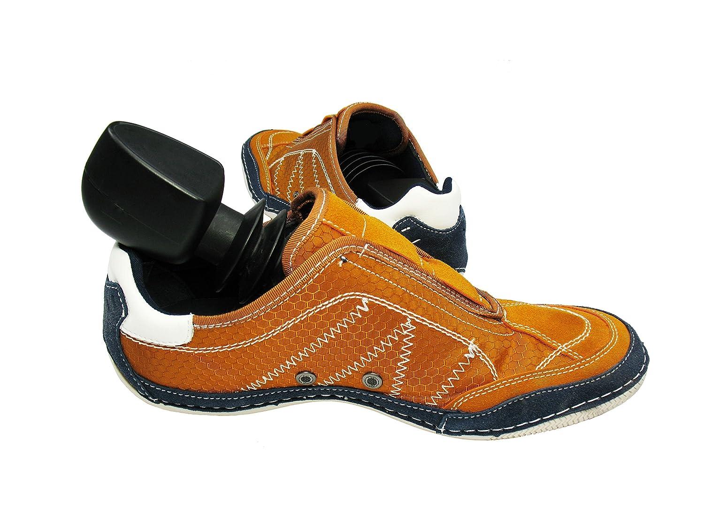 Kunststofftechnik Vlotho - Das Original Der Sneaker -/Reise - Schuhspanner Bekannt aus Schuhfachgeschäften. Ultra leicht für Flugreisen. Größe frei wählbar. 1 Paar in schwarz KLKWf