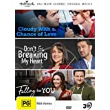 Hallmark 3 Film Collection (Cloudy with a Chance of Love / Don't Go Breaking My Heart / Falling for You)