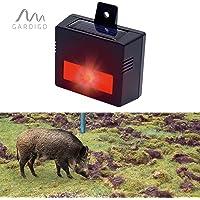 Gardigo solar repelente de animales salvajes ahuyentador electrónico