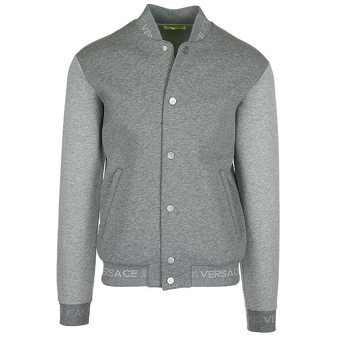 Versace Jeans Sudadera de Hombre Gris EU M (UK M) B7GRA7F6: Amazon.es: Ropa y accesorios
