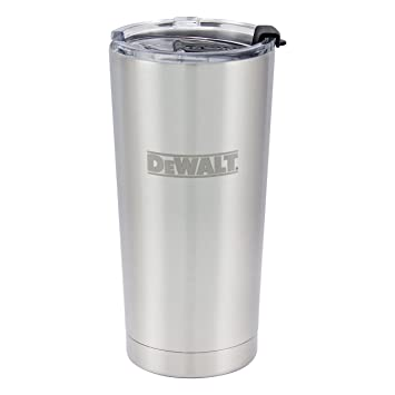 DeWalt Vaso de Acero Inoxidable, 563 ML: Amazon.es: Deportes ...