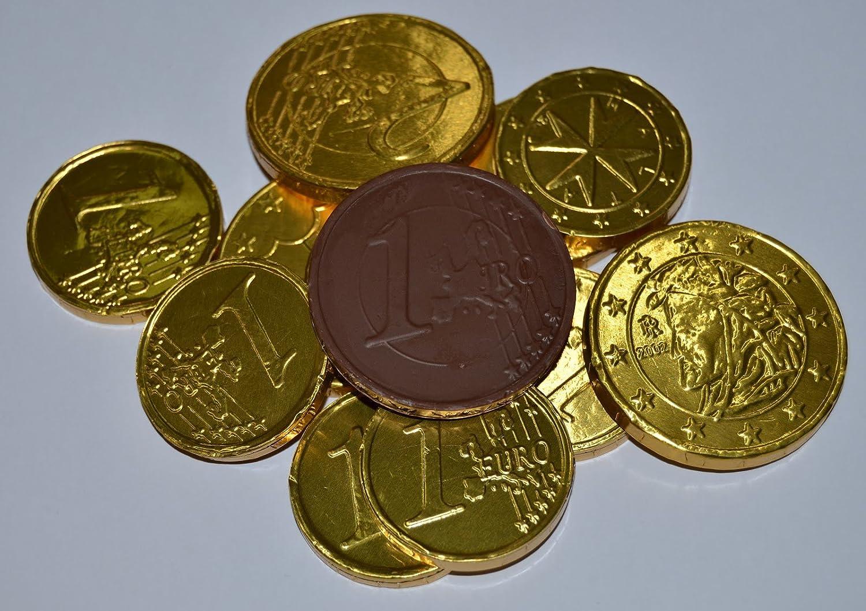Monedas Chocolate Simón Coll - 25 u. x 28 mm.: Amazon.es ...