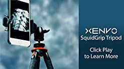 Android GoPro Compatible with All Cell Phones and Action Cameras Xenvo SquidGrip Flexible Tripod for iPhone