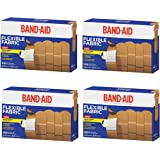 """Band-Aid Brand Flexible Fabric Adhesive Bandages, All One Size 1""""MDHuaD,4Pack (100 Count)"""