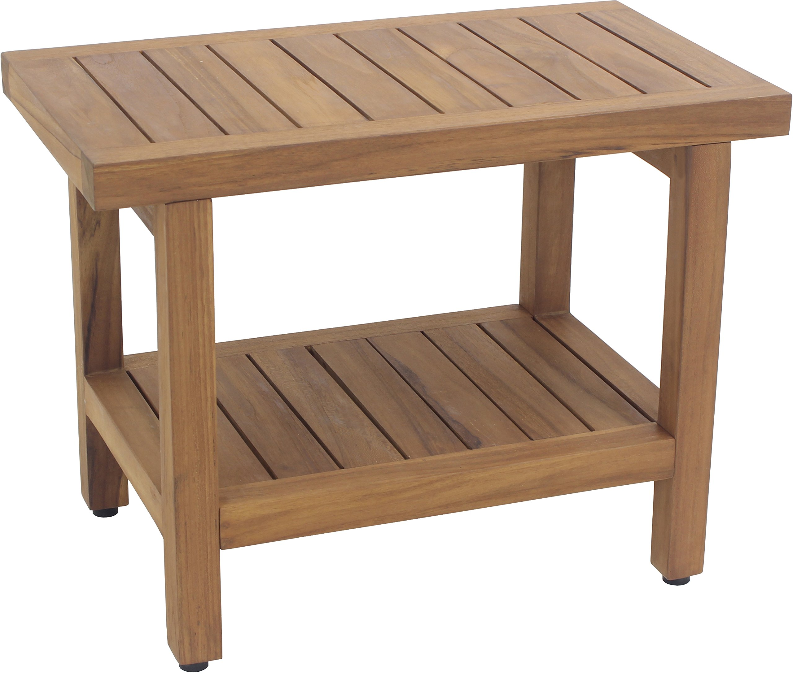 Spa Teak Shower Bench - 24 , Bench Only