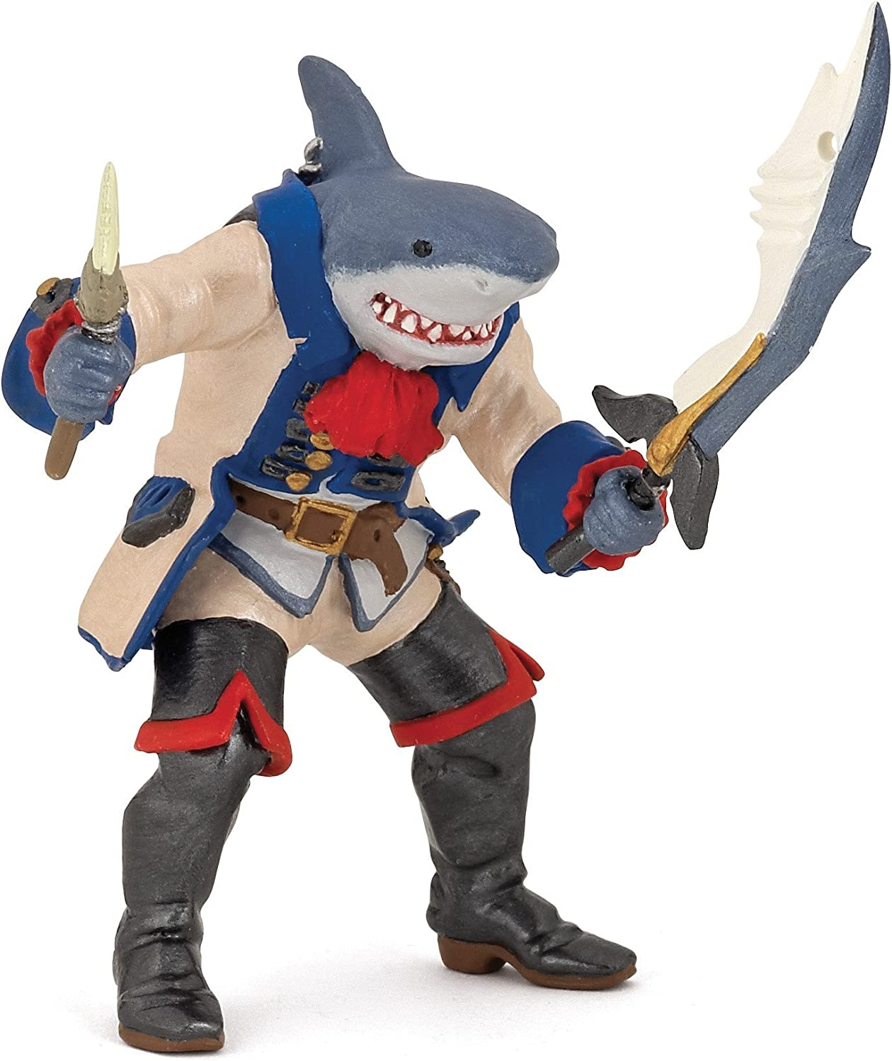 Papo Pirates and Corsairs Figure, Shark Mutant Pirate