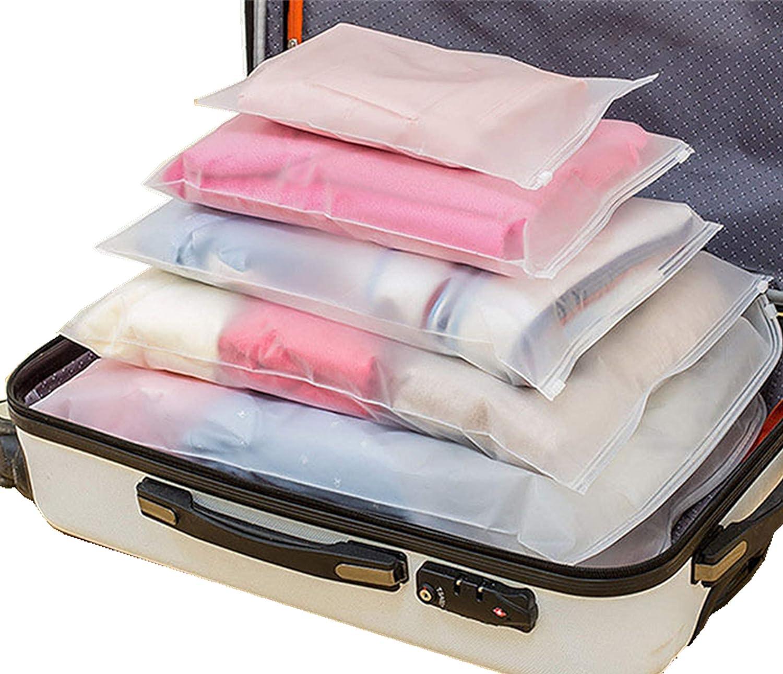 Cube Demballage 12 Set Syst/ème de Cube Voyage Parfait Pour les Bagages de Vacances Voyage de lair et le Stocka