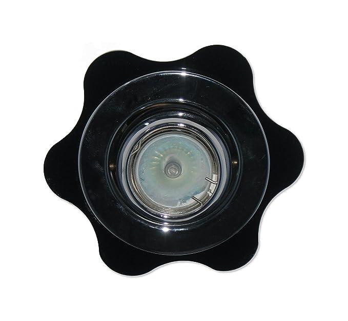 51mm Hole X 85mm Outside White Focus Plastics Round Downlight