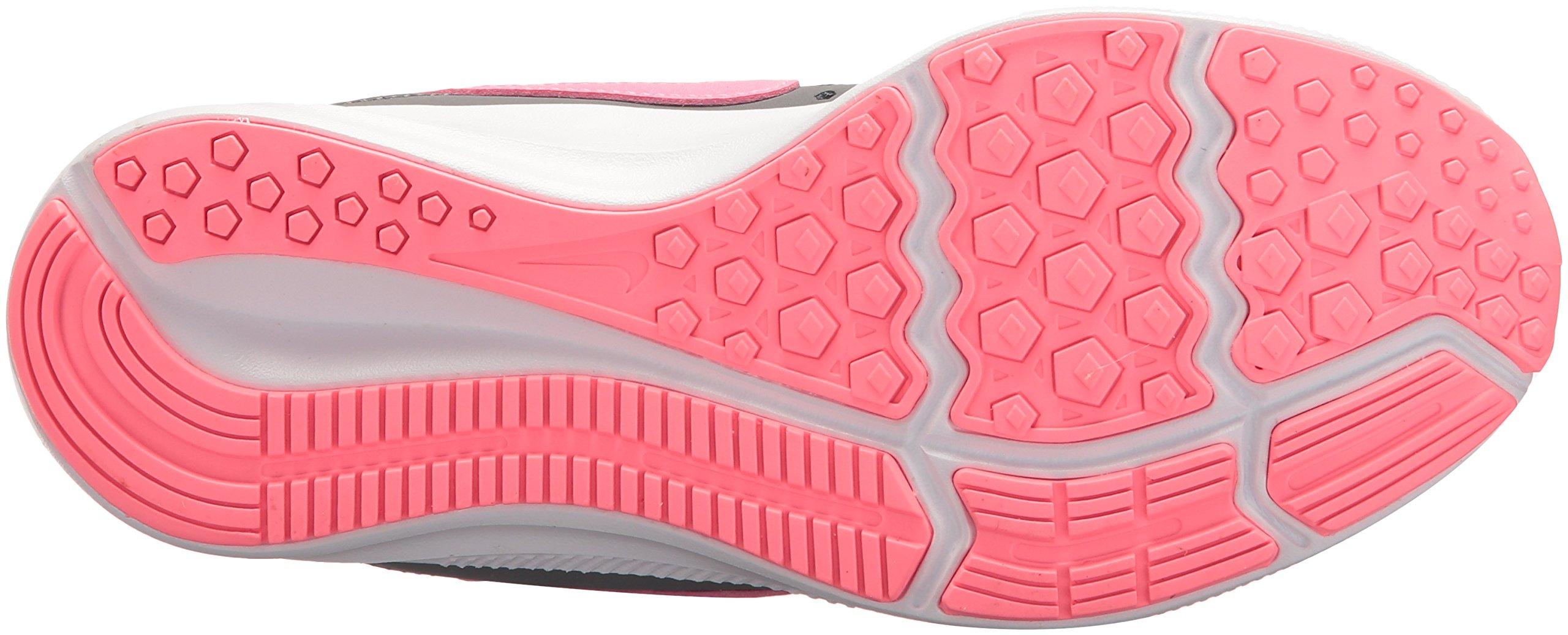Nike Girls' Downshifter 7 (PSV) Running Shoe, Gunsmoke/Sunset Pulse-Atmosphere Grey, 2 M US Little Kid by Nike (Image #3)