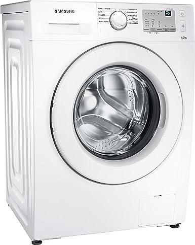 Gut gemocht Samsung WW80J3473KWEG Waschmaschine / UpM 8 kg / weiß / Frontlader JK52