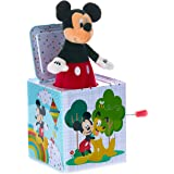 KIDS PREFERRED Disney Baby Mickey Mouse Jack-in-The-Box Musical Toy for Babies