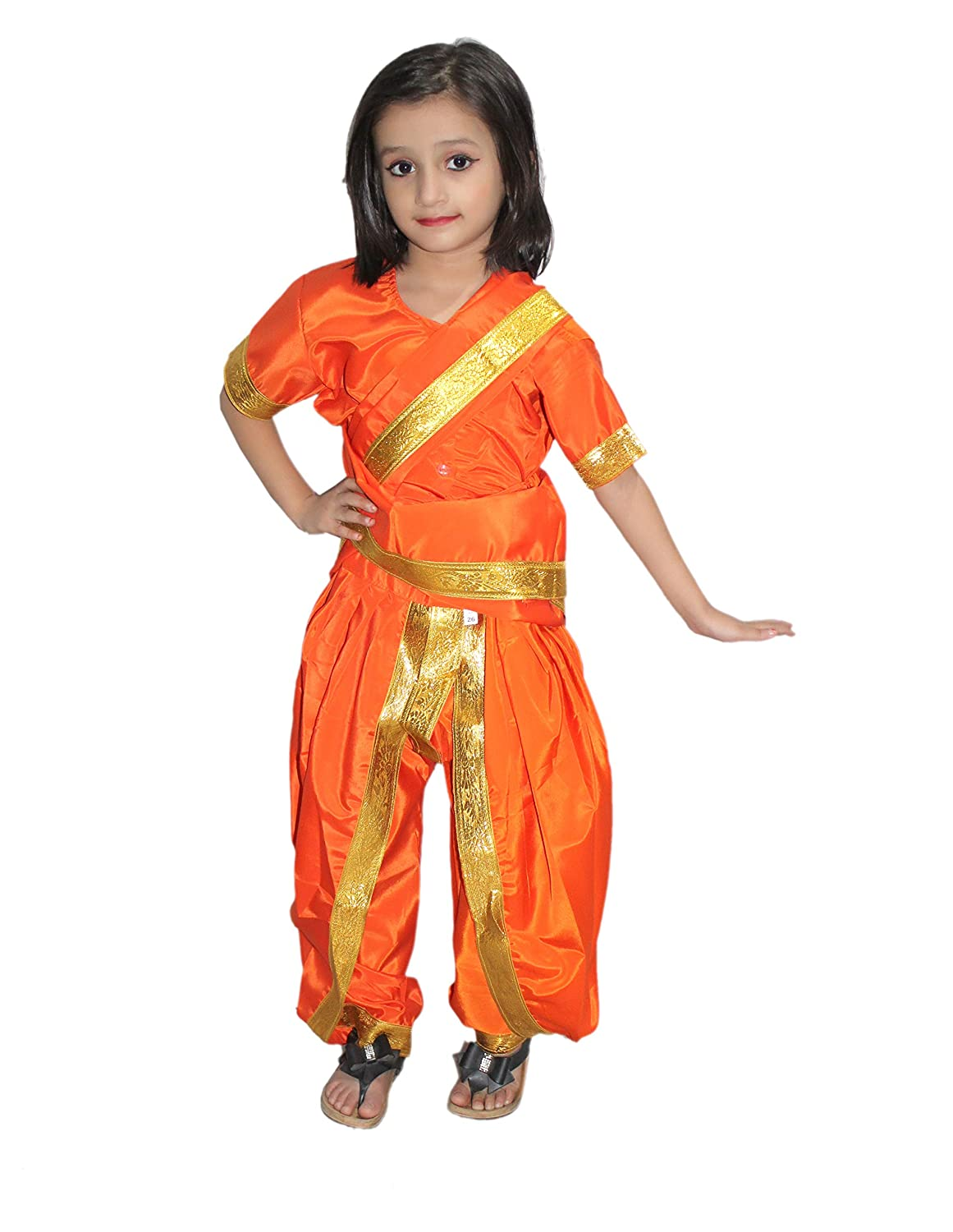 58db65c9549d Buy KAKU FANCY DRESSES Marathi Girl Indian State Traditional Wear ...
