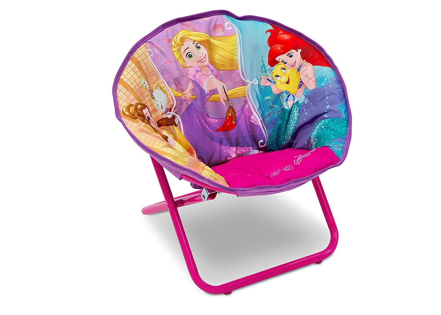 Delta Children Disney Princess Children's Saucer Chair Delta Children Products TC83550PS