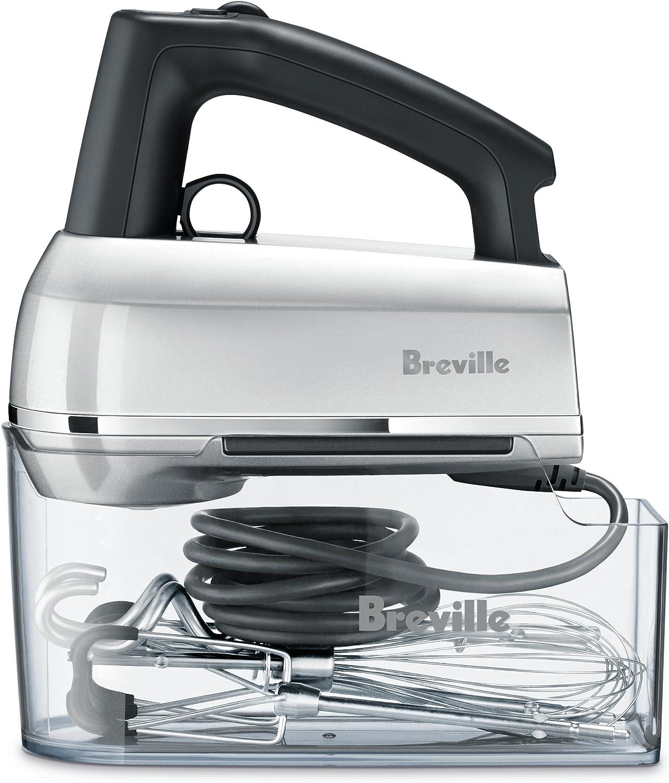 Breville BHM800SILUSC BHM800SIL Handy Mix Scraper Hand Mixer