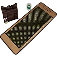 Carefit Full Korean Jade & Tourmanium Heating Mat Combo Size 80X190 Cm Stones:1092