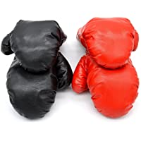 Pair Boxing Training Fighting Gloves PU Kids Muay Thai Sparring Kickboxing Glove