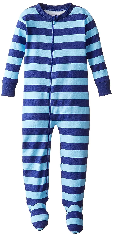Amazon.com: New Jammies Little Boys Organic Cotton Footie Pajamas: Pajama Bottoms: Clothing
