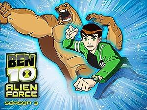 Amazon com: Ben 10: Alien Force Season 3 (Classic): Amazon